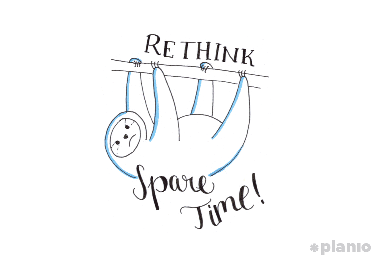Rethinking your spare time