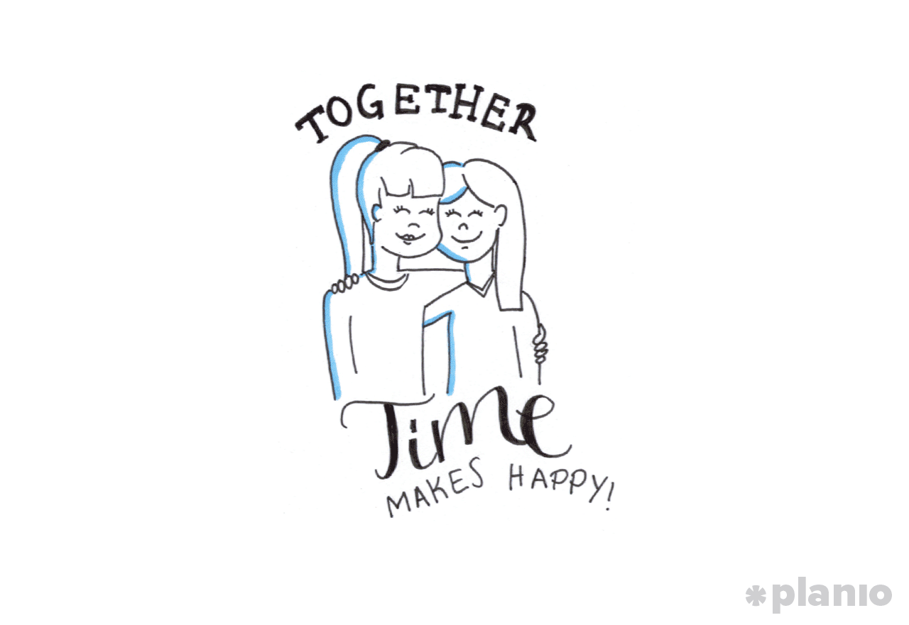 Together time makes people happy